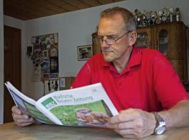 Eine BBZ-Ausgabe wird im Durschnitt von drei bis vier  Personen gelesen.