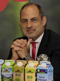 Geschäftsführer Andreas Schneider zeigte sich sehr zuversichtlich über die Marktchancen im Bereich vegane Produkte.