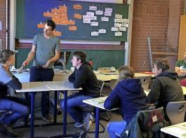 Was man im Berufsschulunterricht lernt, bildet auch  die Grundlage für spätere Qualifikationen.