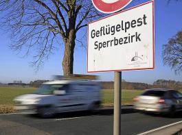 Im Regierungsbezirk Freiburg wurden bislang neun Sperrbezirke eingerichtet.