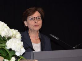 Edith Schreiner bedauerte, dass viele Erzeuger nicht mehr an der Weinmesse  teilnehmen.