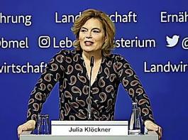 Während Julia Klöckner beim anstehenden Insektenschutzgesetz Kompromissaussichten mit dem Umweltministerium optimistisch  beurteilt, kommen von dort gerade andere Töne.