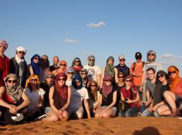 Das sind keine Beduinen, sondern Landjugendliche aus Südbaden, die in Marokko viel erlebten.