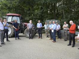 Diskutiert wurde vor allem das Thema der Grünlandnutzung in Steillagen durch Weidevieh. Im Rheintal stand das Thema Saatmais und die Gefährdung dieses gemeinschaftlichen Anbausystems durch die neue GAP auf dem Programm.