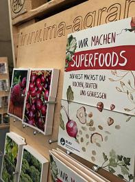 """Für """"Superfoods"""" aus der Region wirbt der BLHV auf der Baden Messe, die bis Sonntag läuft."""