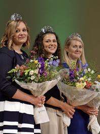 Die neuen Botschafterinnen der badischen Weine und Winzer sind Victoria Lorenz, Katrin Lang (Weinkönigin) und Michaela Wille (von links).