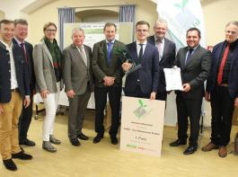 Johannes Klausmann überzeugte die L.U.I-Jury mit der Geflügel-Management-App 'Farm MS'.