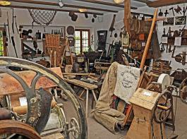 Im Ihringer Heimatmuseum gibt es jede Menge an Gegenständen aus dem dörflichen Leben von einst zu entdecken.