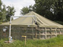Unter anderem der Bau von abgedeckten Güllelagern mit einer um mindestens zwei Monate erhöhtem Kapazität über dem gesetzlichen Standard soll über das neue Programm  gefördert  werden.