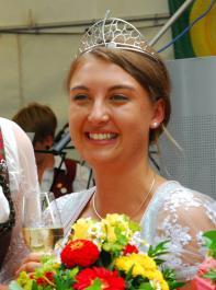 Markgräfler Weinprinzessin Anika Stork