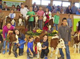 Das sind die glücklichen Kinder nach der erfolgreichen  Wettbewerbsteilnahme.