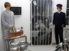 Blick in die Ausstellung des Psychiatrie-Museums