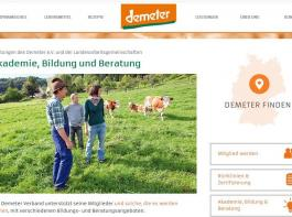 Demeter-Beratung im Internet