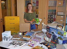 Der Badische Landwirtschafts-Verlag ist bestens auf das Weihnachtsgeschäft vorbereitet. Carolin Karl freut sich auf viele Buchbestellungen, die sie rechtzeitig zum Fest abwickelt.