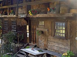 Vor mehr als 400 Jahren wurde der Schniederlihof gebaut, heute zeigt das Museum, wie karg und mühsam das Leben dort einst war.