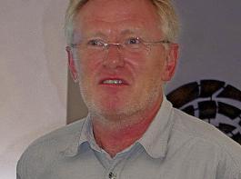 Dr. Norbert Starck, Zuchtleiter der Firma PZO Oberlimpurg.
