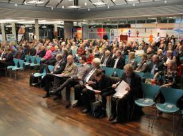 Gut besucht, aber keineswegs überfüllt war die PFC-Informationsveranstaltung im Landratsamt Rastatt am 1.Dezember.