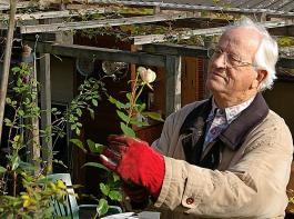 Max Neidhart als Pensionär.