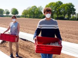 Bundeslandwirtschaftsministerin Julia Klöckner hat am Montag den Verbänden der Agrarwirtschaft mitgeteilt, dass Saisonarbeitskräfte von Einreisebeschränkungen ausgenommen werden.