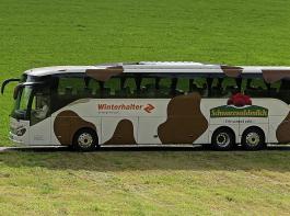 Die Klasse, die das beste Video dreht, wird mit dem Schwarzwaldmilch-Kuhbus abgeholt und zu dem Hof nach St. Georgen gebracht