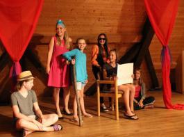 Beim Ruckzuck-Theater gab es spontane Bühnenauftritte.