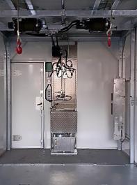 Innenansicht der MSB-AC-Box von Uria.