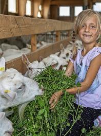 Urlaub auf dem Bauernhof ist einer der Bereiche, auf dem der Schwerpunkt bei der Diversifizierungsförderung liegt.