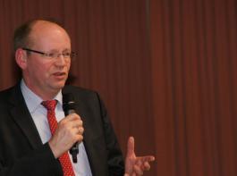DBV-Generalsekretär Bernhard Krüsken referierte über die berufsständischen Herausforderungen auf Bundesebene.