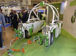 Die Roboter kommen. Naio Technologies zeigte eine Lösung für die Beikrautkontrolle im Weinberg.