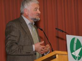 Ministerialdirektor Wolfgang Reimer machte Werbung für die Leistungen des Landes  bei der Umsetzung der EU-Agrarreform.
