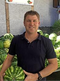 Thomas Köninger aus Achern-Önsbach ist mit der Melonen-Saison in diesem Jahr bisher ganz zufrieden.