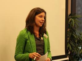BBL-Vorsitzende Katharina Dier eröffnete den ersten Jungunternehmertag Weinbau.