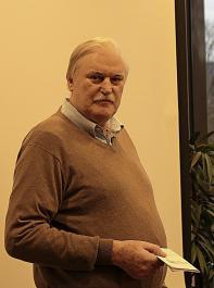 Geschäftsführer Peter Wohlfarth stellte den Badischen Weinbauverband vor.