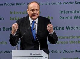 Joachim Rukwied, hier bei der Eröffnung der Grünen Woche 2019, macht keinen Hehl aus den Meinungsverschiedenheiten zwischen Bauernverband und Bundeslandwirtschaftsministerium.