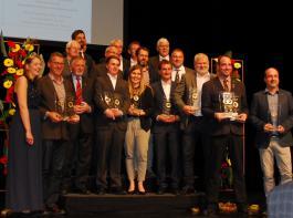 Die Top-Ten-Sieger wurden in Offenburg ebenfalls geehrt.