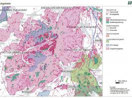 Beispiel Kaiserstuhl: Er besteht fast komplett aus FFH- und Vogelschutzgebieten. Ein Erfolg des Volksbegehrens hätte hier massive Auswirkungen.