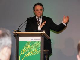 Der neue Bundeslandwirtschaftsminister Hans-Peter Friedrich