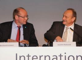 Bernhard Krüsken, neuer Generalsekretär des Deutschen Bauernverbandes   (DBV), und DBV-Präsident Joachim Rukwied.