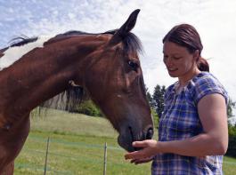 Für die Agrarwissenschaftlerin Gisela Ehret steht das Pferdewohl an erster Stelle.