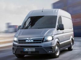 MAN bietet den VW Crafter in einer baugleichen Version  ab 2017 unter der Bezeichnung  TGE an.
