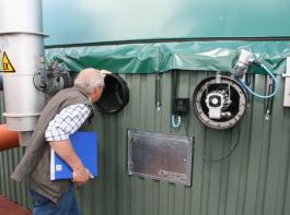 Für Biogasanlagen waren die Perspektiven schon besser als zurzeit.
