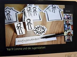 """Das zentrale Thema der Sitzung lautete """"digitale Gruppenarbeit""""."""