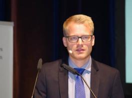 Christoph Kunz, Universität Hohenheim, untersuchte die Grenzen und Möglichkeiten der mechanischen Unkrautbekämpfung.