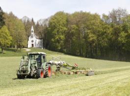 Ackerfutterbestände waren häufig Ende April erntereif.