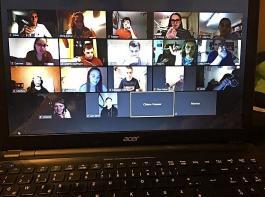Bei Online-Events treffen sich die Teilnehmer in einem virtuellen Meeting.