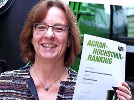 Die Uni Hohenheim kam beim diesjährigen Agrar-Hochschulranking auf den ersten Platz im Bereich Landtechnik.