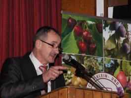 Ulrich Müller, Vorsitzender des Verbandes Badischer Klein- und Obstbrenner