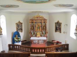 Die Thurnerkapelle St. Wolfgang stammt aus dem 18. Jahrhundert.