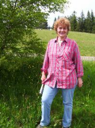 Monika Schwarz, Kräuterpädagogin und Ideen-  geberin des Projektes Kräutermanufaktur.