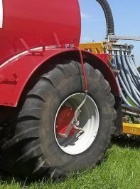 Reifendruckregelanlage zur Reduzierung des Bodendrucks